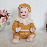 Антикварная немецкая коллекционная кукла Kley & Hahn 525