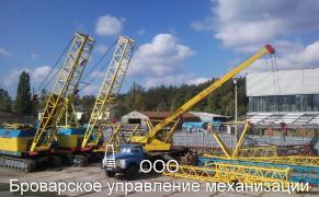Аренда гусеничных кранов Киев по Украине