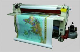 Banner printing, film cutting, lamination