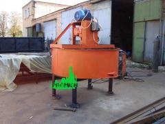 Бетоносмеситель для принудительного перемешивания бетона и раств