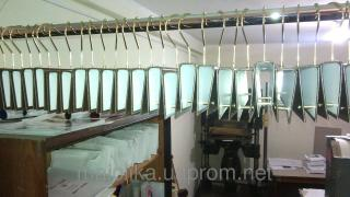 Exhibition hangers for metal. hook