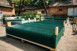 From the manufacturer. Mesh, Welded mesh fencing. PVC chain-link