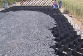 Geocity geogrid gabions geotextile for strengthening