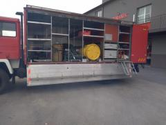 Rescue machine chemical service Jelcz P 415/2